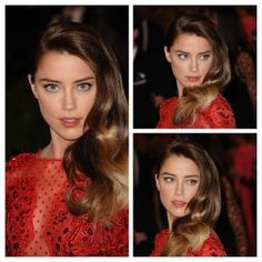 """HD Wallpapers: Amber Heard attends """"PUNK: Chaos to Couture"""" exhibition"""