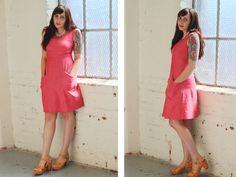 Strawberry dress - my version done!