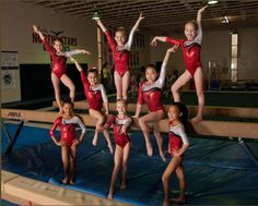 Gymnastics Gymnastics Group Team Picture Gymnast