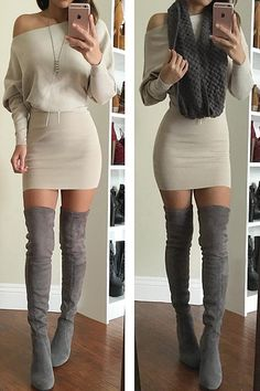 On-trend fall, only $25.99 & Free shipping & Easy returns! When you see this knitting bodycon dress it will be loveliest sight you'll see all day! It's still cool and chic but the colors lean more towards fall! Perfect option for you at Cupshe.com !