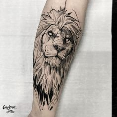 70 Female and Male Lion Tattoos Tattoos 3d, Lion Head Tattoos, Mens Lion Tattoo, Leg Tattoo Men, Calf Tattoo, Forearm Tattoos, Animal Tattoos, Arm Band Tattoo, Body Art Tattoos