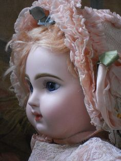 ~~~RESERVED ~~~ Amazing French Bisque BeBe Jumeau Size 8 ~~~ from whendreamscometrue on Ruby Lane