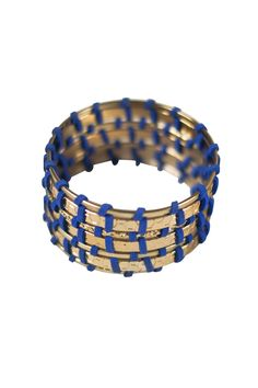 Suede & Gold Fortified Bracelet
