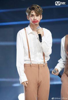 Still so handsome😍 Bae Jinyoung Produce 101, Ong Seung Woo, First Boyfriend, Guan Lin, Memes Funny Faces, Kpop Couples, Lee Daehwi, Kim Jaehwan, Ha Sungwoon