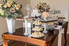 Mesa de doces casamento chanel 1
