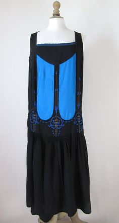 1920's Sleeveless Dress