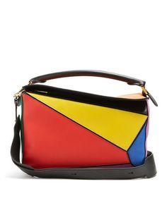Loewe | Multicolor Puzzle Leather Shoulder Bag | Lyst