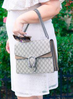 Off Shoulder Dress, Gucci bag, Jimmy Choo shoes, Addition Elle, summer trend, curvy fashion blogger, plus size