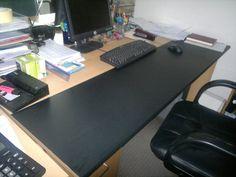 biurko po renowacji