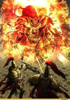 Warhammer 40000,warhammer40000, warhammer40k, warhammer 40k, ваха, сорокотысячник,фэндомы,Horus Heresy,Ересь Хоруса,Primarchs