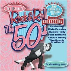 Various Artists & Elvis Presley & Buddy Holly & Fats Domino & Conway Twitty & The Platters & Ritchie Valens & Tommy Edwards & The Big Bopper & Chuck Berry & & 7 more - Ultimate Rock & Roll Collection Tommy Edwards, Hally Berry, Sock Hop Party, 50s Rock And Roll, Ritchie Valens, Conway Twitty, Jailhouse Rock, Heartbreak Hotel, Adult Birthday Party