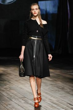 Prada Fall 2013 Ready-to-Wear Fashion Show - Hedvig Palm