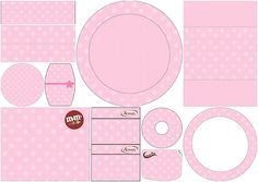 Pink with Pink Polka Dots: Free Printables Candy Bar Labels.