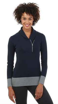 Zip it up and earn CASH BACK from DealAction on this Zip Shawl Collar Sweater from @nauticabrand!