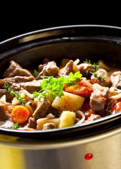 healthy slow cooker recipes.