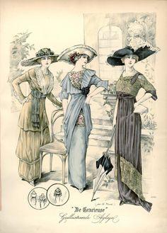De Gracieuse, 1912