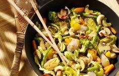 Gemüsecurry mit Cashew-Nüssen - 10 einfache