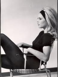 Brigitte Bardot: photo by my father-in-law, Loomis Dean.