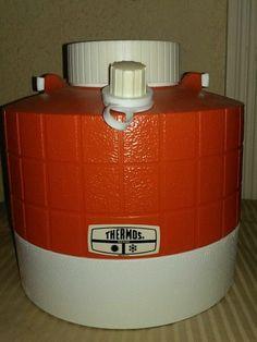 Vintage Thermos Jug 1 Gallon Orange Collectable Retro | eBay