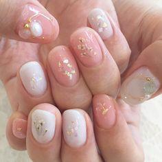 Crystal Sparkle Nails