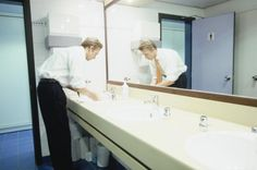 Avoid embarrassment by following some basic bathroom and restroom etiquette…