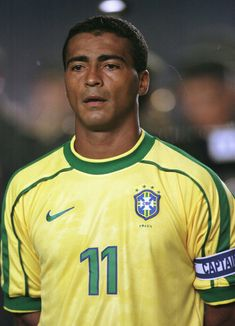 Romario was one of the best footballers ever who played for the national team of Brazil. He even played in Eindhoven for a while and is still one of the club heroes.