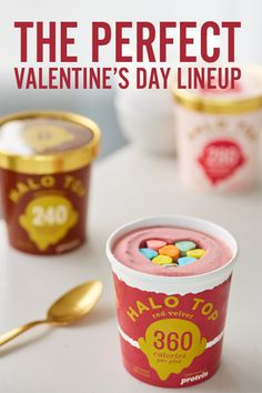 How to sweep someone off their feet - give them Halo Top Ice Cream! Impress them with low-cal ice cream that tastes like the real stuff! Grab a pint for you and a pint for your special someone � or just you! Yummy Treats, Delicious Desserts, Sweet Treats, Yummy Food, Get Healthy, Healthy Snacks, Healthy Eating, Kid Snacks, Healthy Life