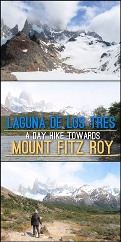 Laguna de los Tres: A Day Hike to Mount Fitz Roy in Patagonia, Argentina Read More: http://mismatchedpassports.com/2016/01/01/laguna-de-los-tres-day-hike-mount-fitz-roy-patagonia-argentina/