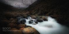 Arcane by amador  water river rocks long exposure agua rio extremadura rocas sierra gredos tietar Arcane amador