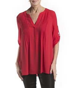 SS Wowen Pentuck Top by B.C.B.G. Available in Redberry