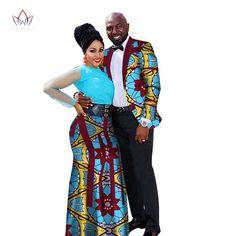 Fashion African Couple Wedding Clothing Dashiki Women Skirt & Men shirt for Lovers Casual loose Traditional Clothing African Fashion Skirts, African Fashion Designers, African Inspired Fashion, African Print Fashion, Africa Fashion, African Prints, African Attire, African Wear, African Dress