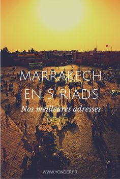 Marrakech en 5 riads : nos meilleures adresses Riad Marrakech, Marrakesh, Visit Morocco, Morocco Travel, Morocco Itinerary, Travel Advice, Where To Go, Places To See, The Good Place