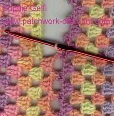 hidden way to join a granny square....may need this one day......