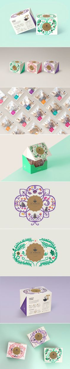 La Fidelia is the Tea That Is Blending Peruvian Tradition With Modernity — The Dieline | Packaging & Branding Design & Innovation News
