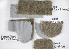 FAUX FUR: trapper hat (free pattern!) - see kate sew