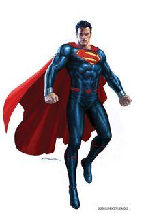 DC Rebirth – Revelados novos uniformes do Batman, Superman, Arqueiro Verde e Lanterna Verde! - Legião dos Heróis