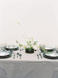 A gray table easily