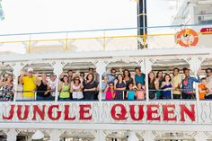 Happy Thursday! P.S. It's almost Friday.. Let's start the weekend early with a nice cruise… ALL ABOARD!!!  #JungleQueenRiverboats #ThingsToDoInFtLauderdale #HappyCruising #MomentsMakeMemories #ThursdayVibes