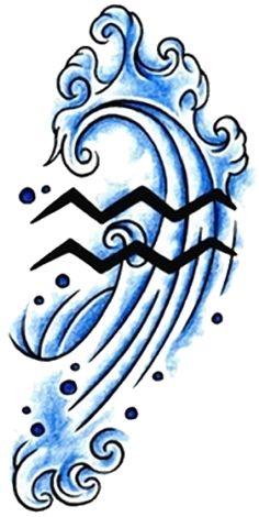 Aquarius Tattoos Designs