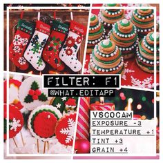 Paid filter ❕ Christmas Filter!  // by @what.editapp on instagram