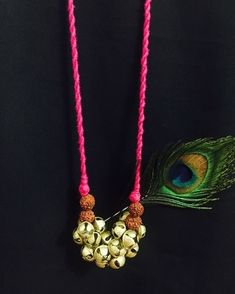 Knowing how to make precious jewelry out of metals might appear like the next rational choice after mastering the standard skills. Terracotta Jewellery Designs, Antique Jewellery Designs, Handmade Jewelry Designs, Handmade Necklaces, Terracota Jewellery, Diy Fabric Jewellery, Funky Jewelry, Beaded Jewelry, Beaded Necklaces