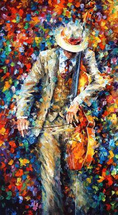 Peinture musique - Misty Music — musique art, art mural musique, peinture à l
