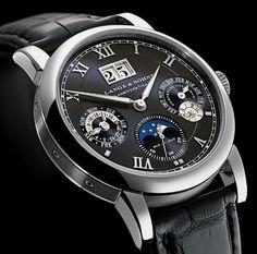 A. Lange & Söhne Langematik Perpetual in White Gold watch
