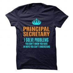 PRINCIPAL SECRETARY T Shirts, Hoodies. Get it now ==► https://www.sunfrog.com/No-Category/PRINCIPAL-SECRETARY-89978616-Guys.html?41382 $21.99