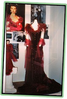 Pattern for the Burgundy Dress from Gone With The Wind