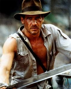 Indiana Jones - Harrison Ford in Raiders of the Lost Ark
