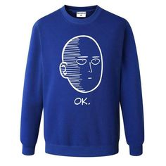 887760629 One Punch Man Men and Women Hoodies Anime ONE Oppai Hoodies ONE PUNCH-MAN  re-make Fleece Jacket Harajuku Sweatshirts