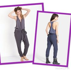 Free People Jumpsuit Angelic💥Hold A slinky racerback bodice tops this silky, two-tone jumpsuit styled with peekaboo button-and-loop closures and a swingy cord-wrapped waist tie. - Bodice is 100% viscose; legs are 100% polyester NWT but with small imperfections at front on the body part. There are some pulled threads a front. Never worn. Free People Dresses