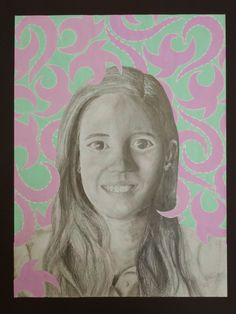 The Calvert Canvas: Adventures in Middle School Art!: Self Portraits After Kehinde Wiley