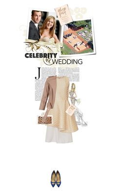 """""""You're Invited: Celebrity Wedding"""" by cultofsharon ❤ liked on Polyvore featuring Tome, Charlotte Olympia and AllSaints"""